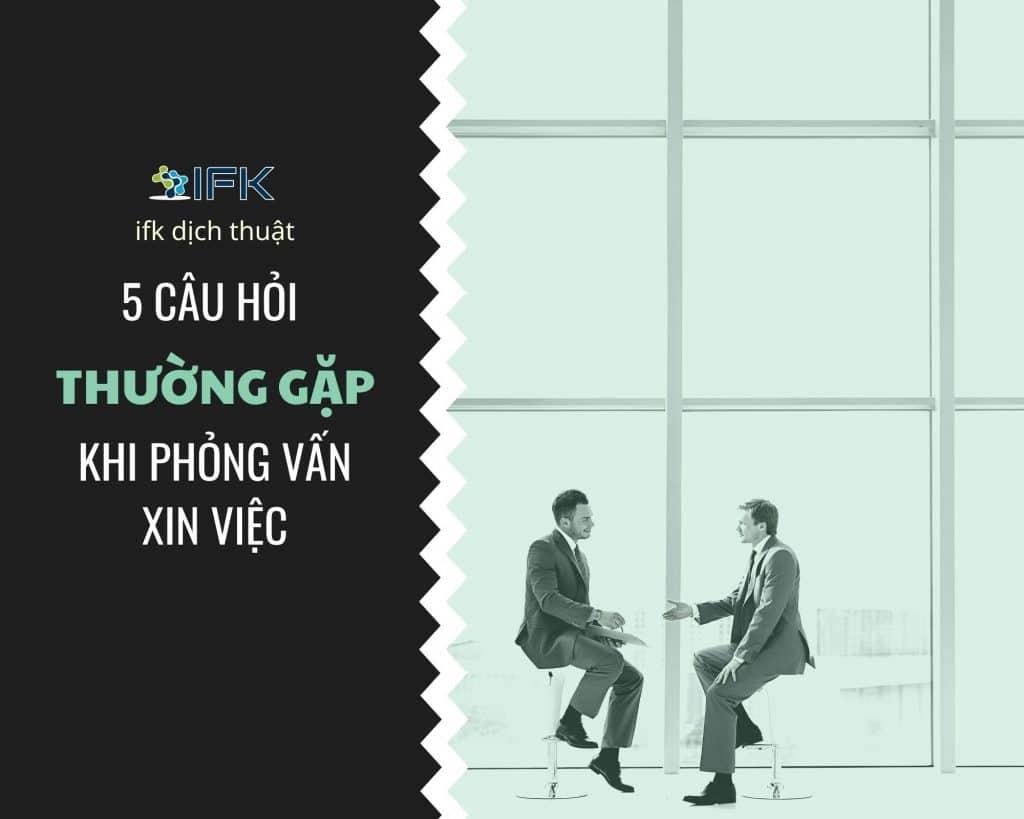 5 CAU HOI THUONG GAP KHI PHONG VAN