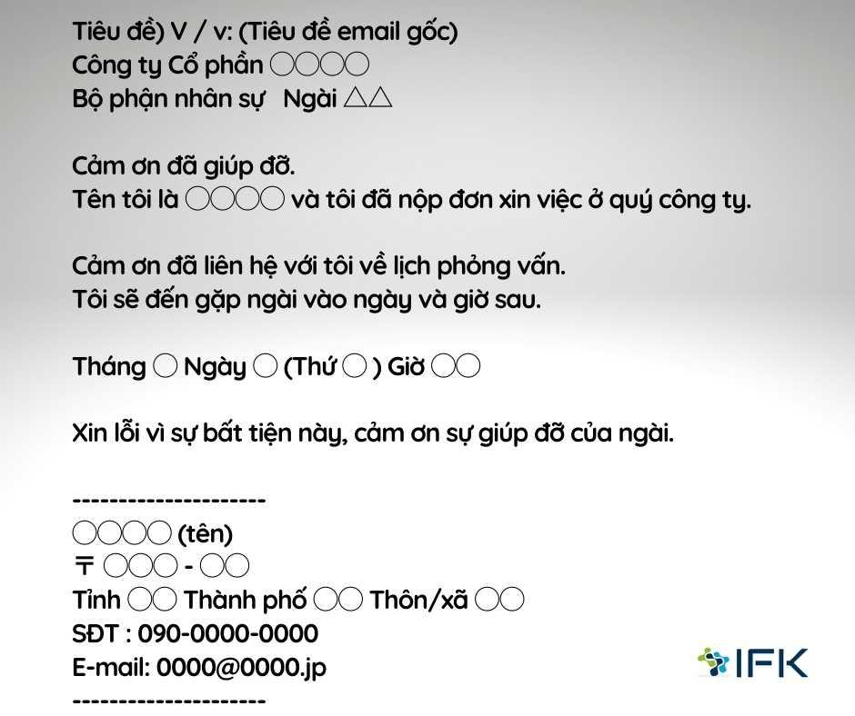 Cách trả lời mail (3)